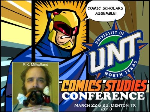 2013-UNT-ComicsStudiesCon